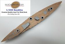Wood Deck for 1/350 SMS Seydlitz (fits Hobby Boss) by Scaledecks.com