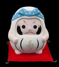 Spardose Daruma Feminines Bonheur Import Japan aus Keramik 392