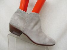 8868aba95168 Sam Edelman Gray Suede Side Zip Ankle Fashion Boots Bootie Size 12 M