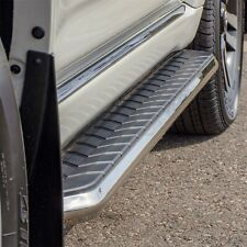 Running Board Side Step Nerf Bars 5in Silver Fit Nissan Rogue 14-19