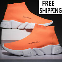 Men's Sneakers Trainer Socks Running Comfortable Speed Knitting Gym Casual Shoes