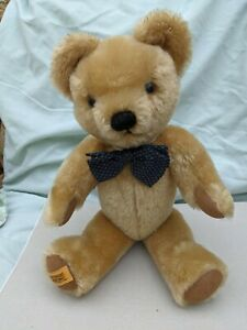 merrythought jointed 16 inch teddy bear