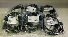 Lot of 6 Vertiv / Emersson CBL0086 DVI-D, USB and Audio KVM Cable, 3 feet