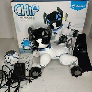 WowWee CHIP Robot Toy Smart Dog in Box - App available instead of Missing Watch