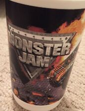 Monster Jam Souvenir Cup Mug Grave Digger Maximum Destruction W/ Handle Trucks