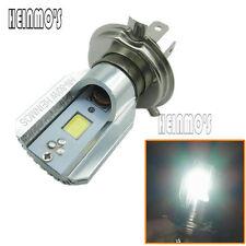 LED Motorcycle Headlight H4 Hi/Low Beam Bulb COB Scooter Motobike lamp 800LM 12W