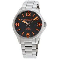 Hamilton Khaki Aviation Automatic Movement Black Dial Men's Watch H76535131
