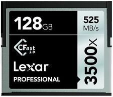 Lexar 3500x 128GB CFast 2.0 Memory Card For URSA Amira XC10 C300 MARKII 1DX2