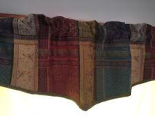 Jacquard Tapestry Valance Rod Pocket Window Valance