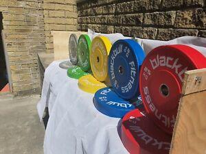Genuine Blackbull Fitness Colour High Quality Bumper Plates Weight training Gym
