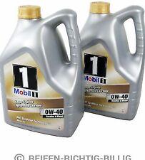 Mobil 1 FS 0W-40 totalmente sintético de aceite del motor 0W40 Mobil 1 2 X 5 litros 10 L