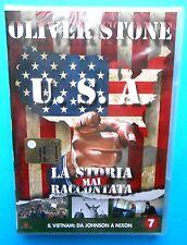 dvds oliver stone u.s.a. la storia mai raccontata n. 7 vietnam usa johnson nixon