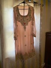 INDIAN / Pakistani  FABRIC DRESS Chiffon / Net  SALWAR KAMEEZ/ Designers Inspire