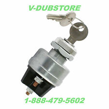 EMPI 9306 UNIVERSAL IGNITION SWITCH 2 KEYS 6 / 12 VOLT VW BUGGY BUG HOT ROD BAJA