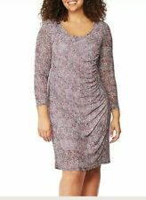 Ladies Designer Dress Size 16 Rebel Wilson collection RRP$129 Bodycon Ruched