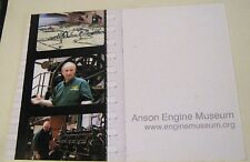 Advertising Tourism & History Anson Engine Musuem - unposted