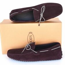 TOD'S Tods New sz UK 7 - US 8 Auth Designer Mens Drivers Loafers Shoes madera