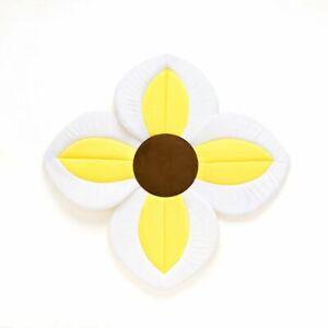 Infant/Baby Foldable Four Petal Flower Shower Cushion-Non-Slip Bath Seat Pad