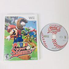 Mario Super Sluggers (Wii, 2008) No Manual Free Shipping