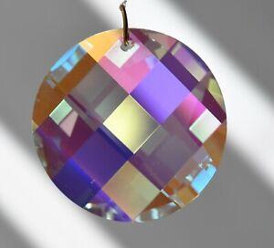 Swarovski 8950-0041 Wavelet Crystal Clear AB Prism Suncatcher - 25mm or 35mm