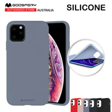 Mercury Goospery Silicone Case Cover For iPhone 11 11 Pro 11 Pro Max