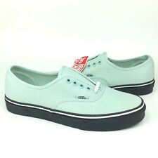 1847faf0870b64 New Vans UA Authentic Canvas Skate Shoe ALL SIZES Black Outsole Green Key  Lime