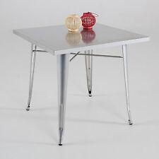 Mesa de caf', metal, color plata