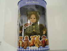 Ann Geddes Baby Bears Soft Huggable Baby Doll, Signature Collection - Nib
