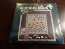 Mill Hill Buttoned and Beaded Kit Daisy DAys MHCB212 #4169