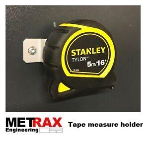 Tape Measure Holder - Garage, Shed,Van racking Truck Trafic T5 Transit Vivaro