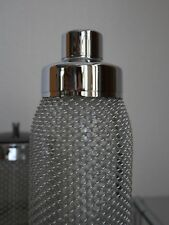 Design Shaker Shakers chrome verre 70er TRUE VINTAGE 70 s bar Equipment