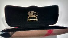 Burberry Eye classes holder hard shell,clam shell made in Italy . Pre-owned  .