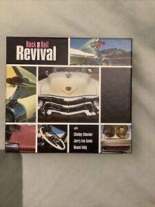 ROCK & ROLL REVIVAL 3 CD Box Set - Chubby Checker, JERRY LEE LEWIS & DUANE EDDY