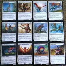 ***White Dinosaur Collection*** Ixalan Commander Tribal Deck Rare Magic Cards