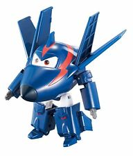 """Super Wings Transforming Series 2"""" Agent Chace Vehicle and Character Toy"""