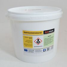5 kg Borax Natriumborat Reinheit 99,9% Na2B4O7·10H2O Natriumtetraborat