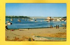 Neah Bay,Wa Washington,Old Dugouts contrast colorful fishing boats