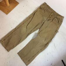 Vintage 90s Lee Dungarees Carpenter Work Chino Denim Skate BMX Grunge Pants 33 3