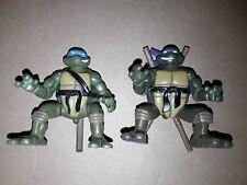 Teenage mutant ninja turtles / lot de 2 tortues ninja TMNT action flip 2004