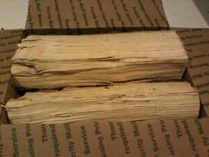 """Hickory Wood 10"""" Mini Logs for Smoking BBQ Grilling Cooking Smoker Priority Ship"""