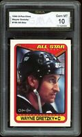 1990 O-Pee-Chee OPC #199 All-Star Wayne Gretzky Graded GMA 10 GEM MINT ~ PSA 10?