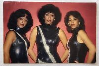 THE THREE DEGREES. Genuine Handsigned Signatures on Christmas Card.