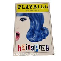 Hairspray Playbill July 2003 Neil Simon Theatre Playbill Harvey Fierstein