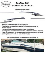 SeaRay 240 SUNDECK Decal/Graphics