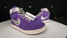 Nike Vandal High 9.5 Canvas Purple Silver SB Supreme
