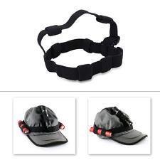Headlight Band Black Flashlight Headband Headlamp Band For 18650 Flashlight
