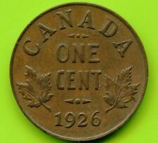1926 Canada 1 Cent Coin