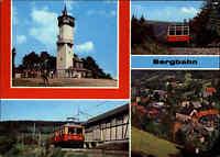 Transport & Verkehr BERGBAHN Oberweißbach Thüringen DDR Postkarte Mehrbildkarte