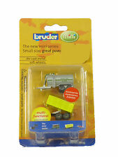 Bruder Mini Series Toys - Micro Barrel & Tipping Trailer 00450  BUY 3 GET 1 FREE
