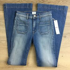 Hudson Taylor Hot Springs Flare Women's Jeans Size 25 NWT (X11)